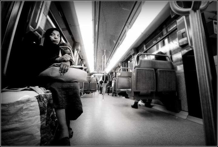 Le train de nuit ....Paris di flaviogallinaro