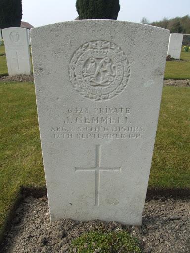 John Gemmell grave