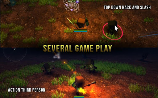 Pixel Dungeon: Fighter War 3D