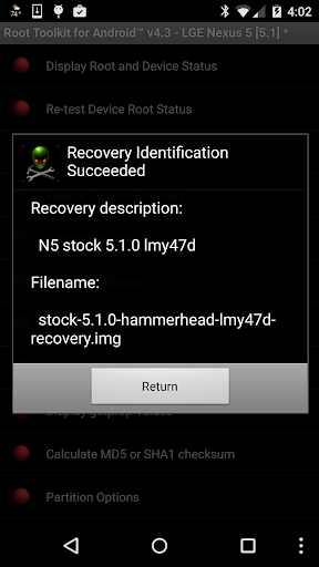 Root Toolkit for Android™ 5.0 screenshots 4