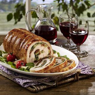 Turkey Roulade Florentine Recipe