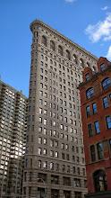 Photo: Daniel Burnham's Flatiron Building. Shouldn't this be in Chicago?