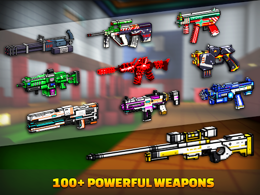 Cops N Robbers - 3D Pixel Craft Gun Shooting Games 9.8.4 Screenshots 13