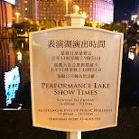 Performance Lake Show Times in Macau in Macau, , Macau SAR