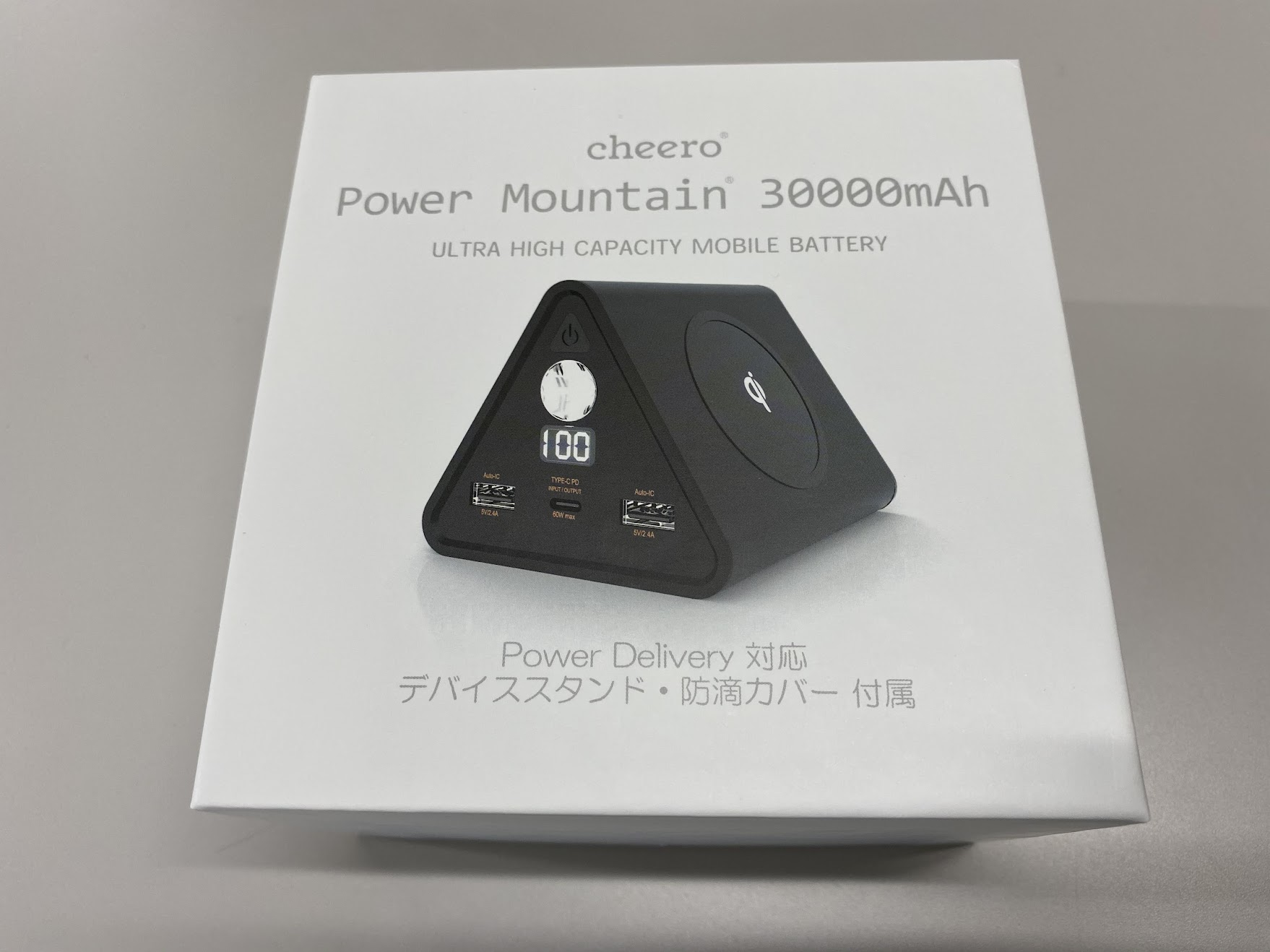 Power Mountain 30000mAh 外箱