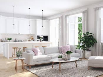 Appartement 4 pièces 84,9 m2