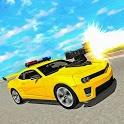 Police Car Shooting Games, Car Modifying Games icon