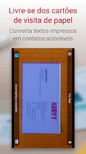 Business card reader scanner de carto de visita aplicaes no imagem de captura de ecr reheart Gallery