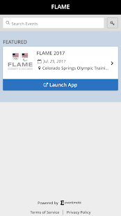 FLAME Events - náhled