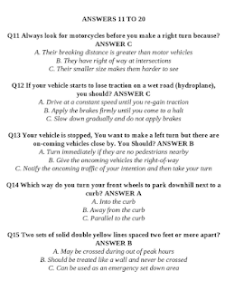California DMV Driver License - Real Questions - náhled