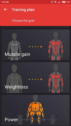 SmartFit - Gym Personal Trainer, Strength training  screenshots 1