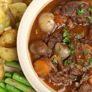 Beef and Winter Vegetable Stew Slow Cooked