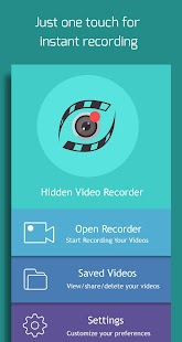 Versteckter Videorecorder Screenshot