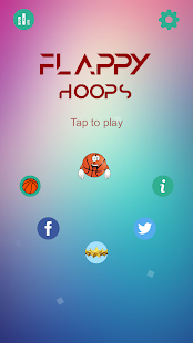 Flappy Hoops - náhled