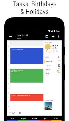 Business Calendar 2・Agenda, Planner & Widgets screenshot 6