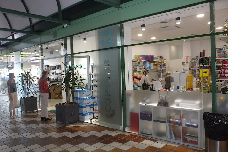 Copysur, ubicada en el Centro Comercial Oliveros.