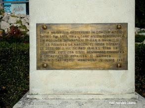 Photo: Miliarul (P-ta 1 Decembrie 1918)  http://ana-maria-catalina.blogspot.ro/2013/06/turda-copia-miliarului-de-la-aiton.html