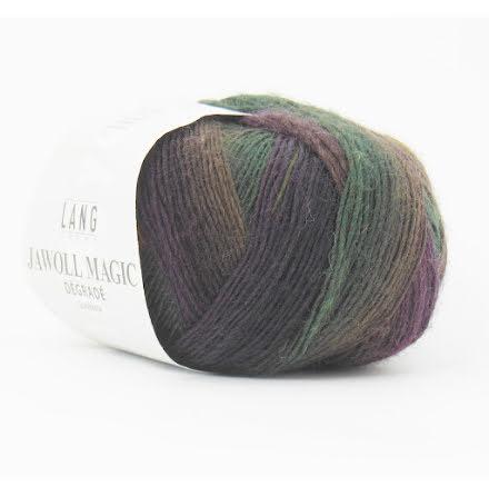 Jawoll Magic Degrade, nr 15 grön, brun, plommon..