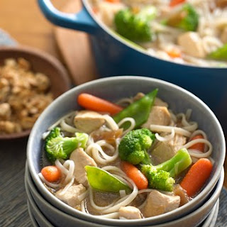 One-Pot Asian Chicken and Noodles