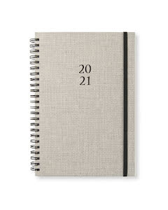 Kalender 2020-21 Newport vecka/notes Sandy Linen
