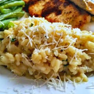 Garlic Parmesan Risotto.