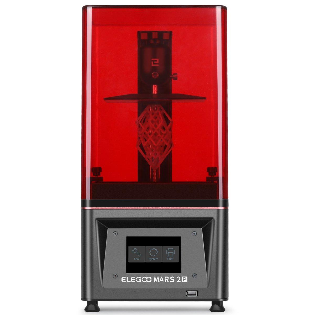 ELEGOO Mars 2 Pro Mono LCD MSLA Resin 3D Printer with Air Purifier – ELEGOO Official