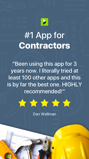 Contractor Estimate & Invoice 2.38.2 screenshots 1