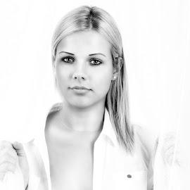 by Róbert Sulyok - Black & White Portraits & People
