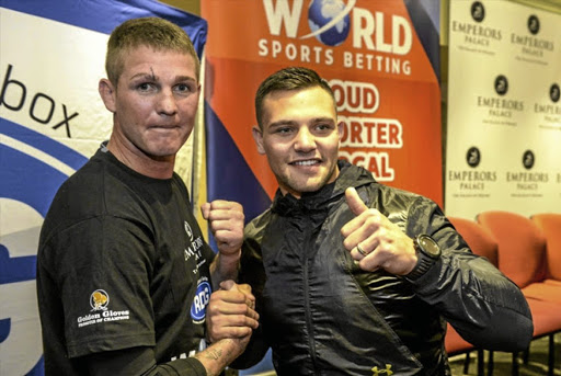 The Kevin 'Two Guns' Lerena vs Thomas 'Tommy Gun' Oosthuizen, which had promised to be a money spinner, has been cancelled. /Sydney Seshibedi