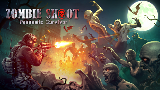 Zombie Shooter:  Pandemic Unkilled 2.1.5 (MOD + APK) Download 1