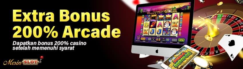 Extra Bonus 200% Arcade