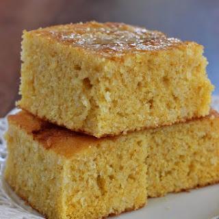 Sweet Buttermilk Cornbread.