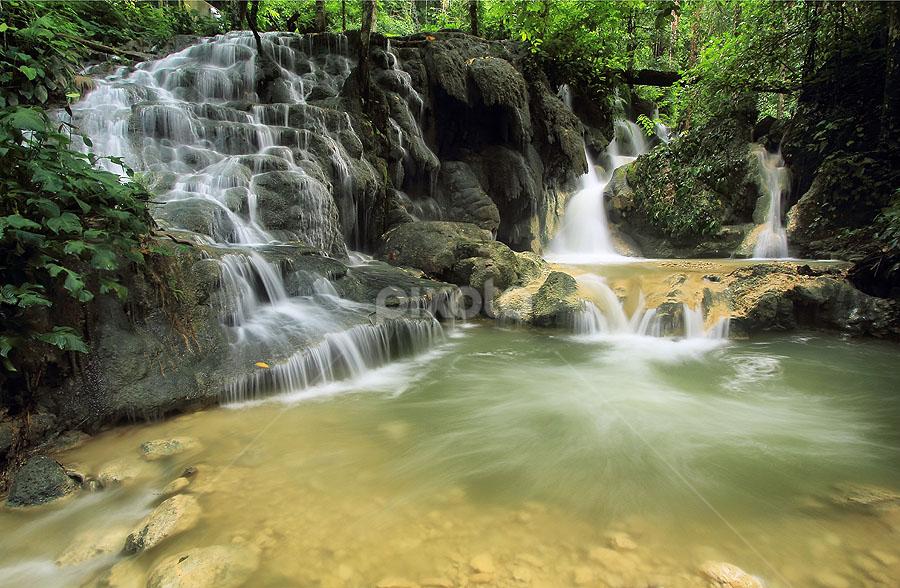 Batu Tikar by Jimmy Papia - Nature Up Close Water ( waterscape, waterfall, stone, flow, luwuk )