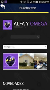 Radio Alfa y Omega Florida- screenshot thumbnail