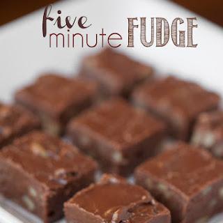 Five Minute Fudge.