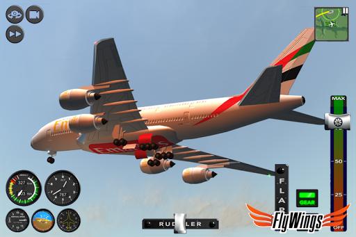 Flight Simulator 2015 Flywings - Paris and France apkpoly screenshots 7