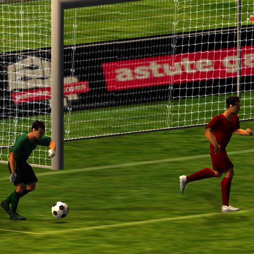 Top-Fußballspiel 2014 3D
