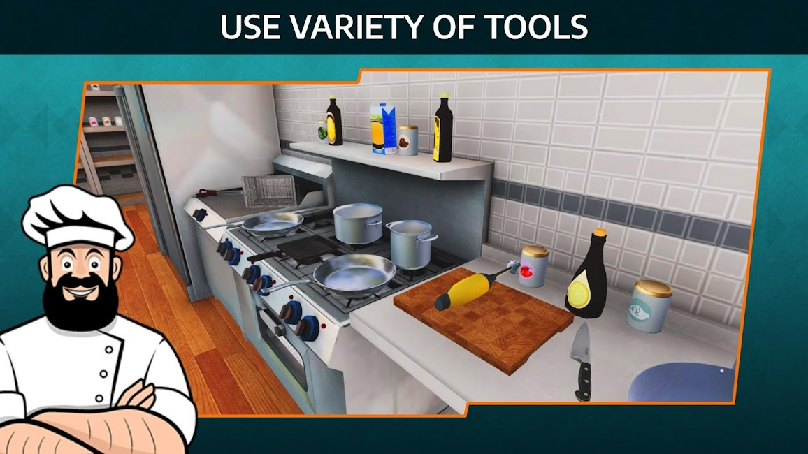Cooking Simulator Mobile GiftCode 1.99 2