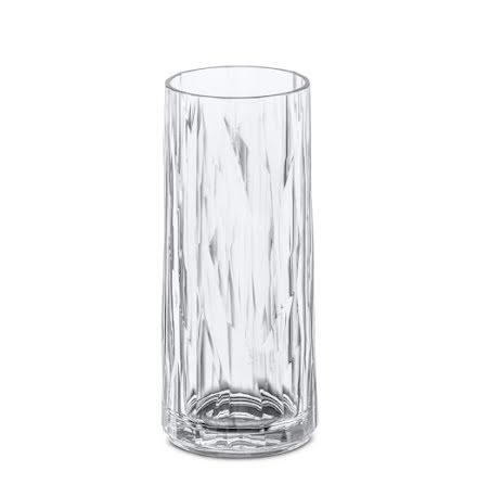 CLUB NO. 3 Longdrinkglas 6-pack 250ml, crystal clear