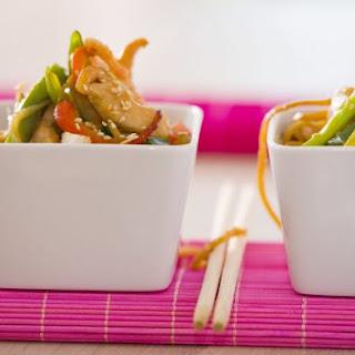 Prawn and Chicken Stir-fry.