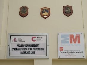 Photo: Sn3S0023-Dakar Pouponnière, bâtiment bébés & enfants, reconnaissance aux mécènes IMG_0058