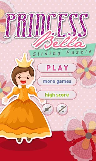 Princess Bella Sliding Puzzle