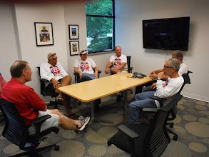 Photo: Trek Factory tour  Rare opportunity to visit with John Burke, president of Trek