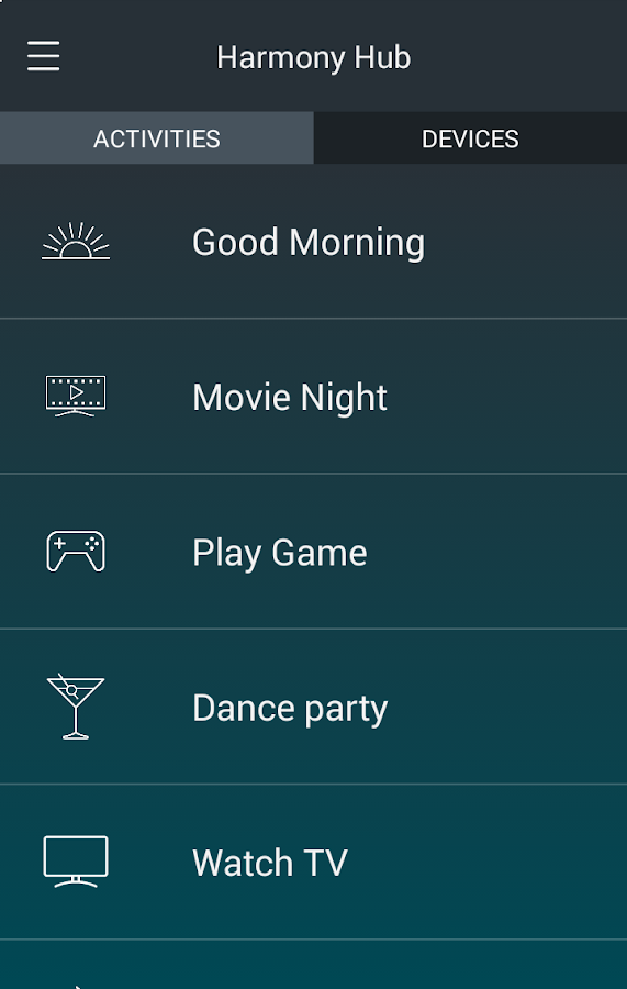 Harmony®- screenshot