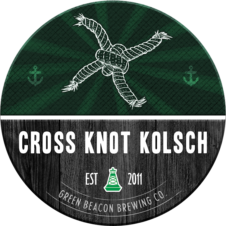 Logo of Green Beacon Cross Knot Kolsch