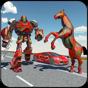 Car Robot Transformation Game - Horse Robot Games