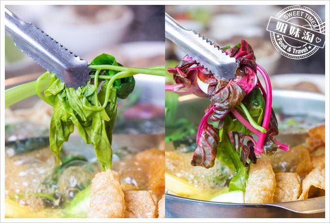 上竹林食草館養生汆燙鍋-野菜7