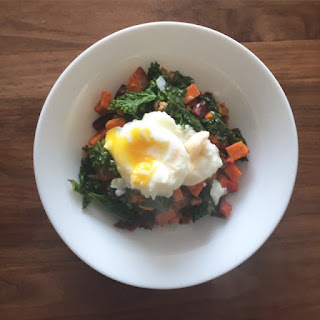 Sweets, Beets & Kale Breakfast Hash