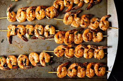 Spicy shrimp, bean dip, and more