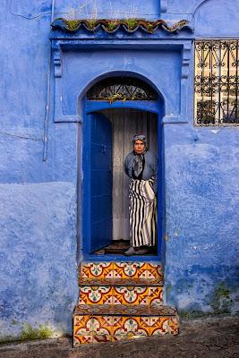 La signora in blu di nicolapezzatini